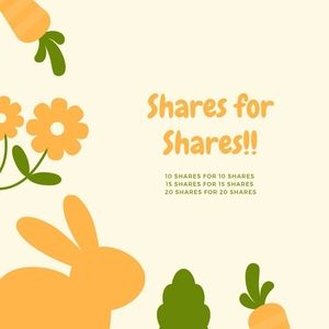 SHARES FOR SHARES